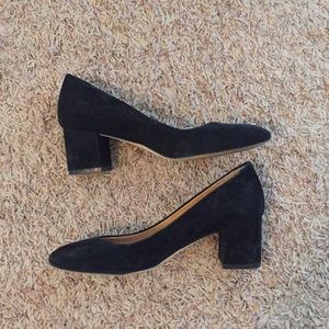 Classy J Crew black heel